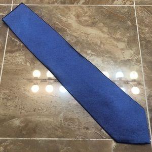 Brooks Brothers 100% Silk Medium Blue Tie
